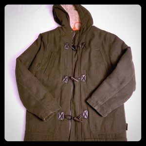 Hawke and Co Green Boys Winter Coat 14/16
